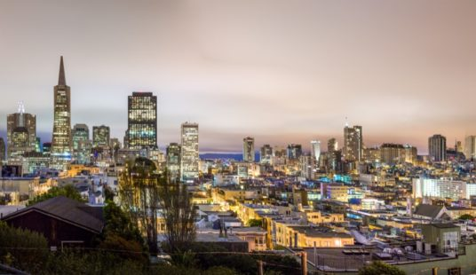 San Fransisco city night scape
